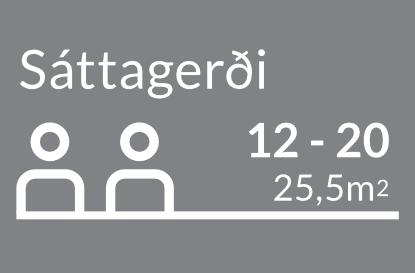 Funda og ráðstefnusalir - Sáttagerði
